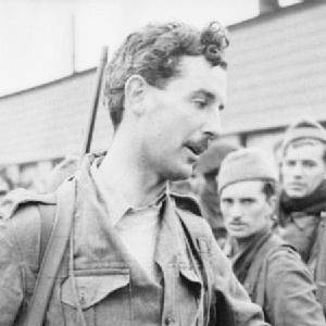 British Army, Lord Lovat, Commander No 4 Commanda after the Dieppe Raid, 19 Aug 1942 [crop]