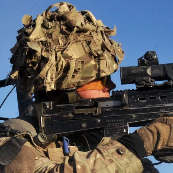 British Army Royal Artillery Op QALB (Op HERRICK) Helmand Afghanistan (Crown Copyright, 2013, OGL)[1180crop]