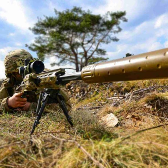 US Army 173rd Airborne Brigade sniper, Ex Eagle Sokol, Slovenia (2019)[1180]