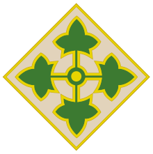 US Army 4th Infantry Division insignia
