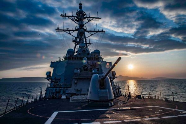 US Navy USS Carney (DDG 64), Exercise Joint Warrior 19-1 09-04-2019 (Fred Gray IV, US Navy, 2019)[1180]